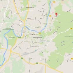 Buveinės (registracijos) adresas (Bistryčios g., Vilnius)
