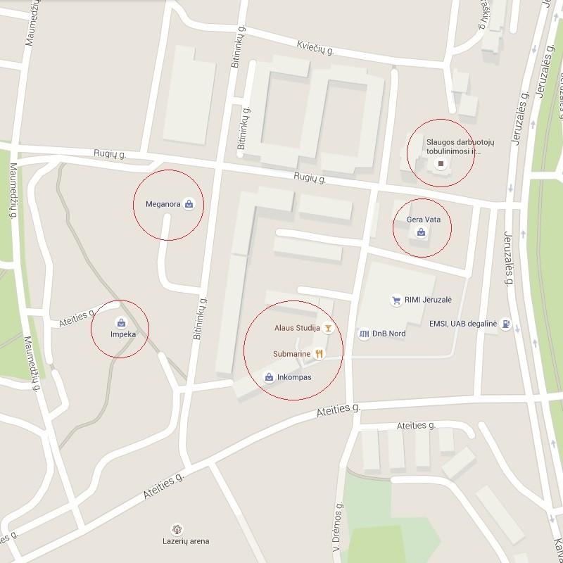 Maps Google.Imonės Adreso ų įkėlimas į Google Maps Mb Biurega